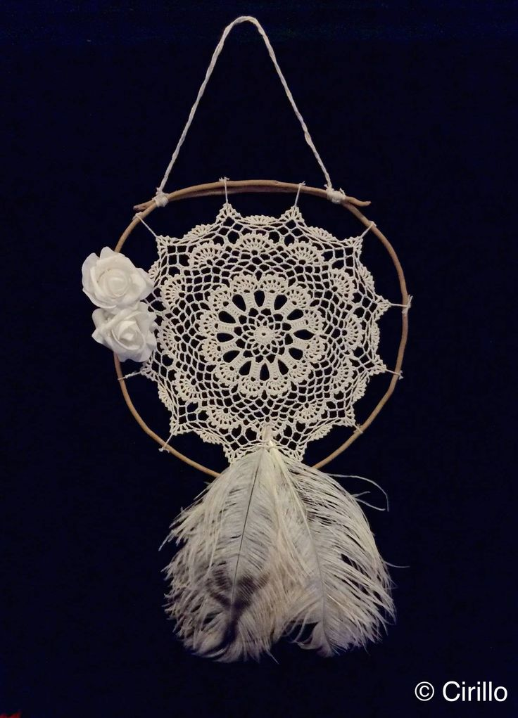 White Rose, Ostrich Beauty. Handcrafted one-off timber doily representing serenity and purity. $50 (+postage). (PM if interested).