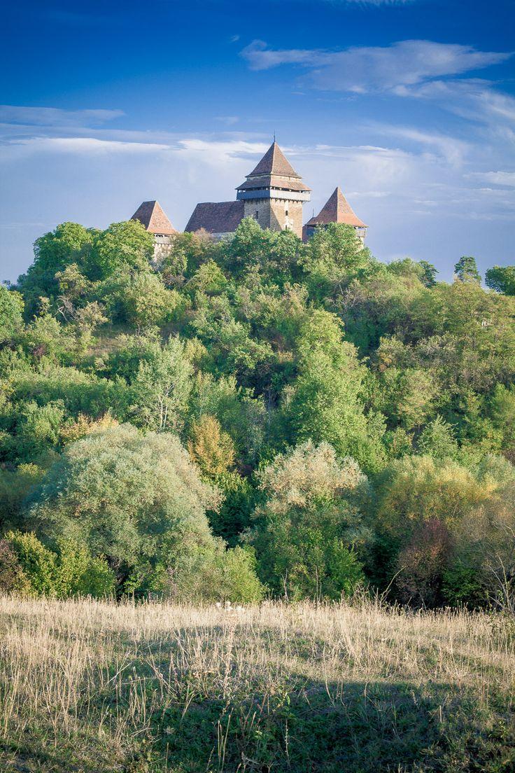 Fortified Church in Viscri Saxon village, Transylvania.