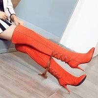 Condition: 100% brand new & high quality Shoe Width:Medium(B,M) Heel hight:9cm Season:Autumn,Winter