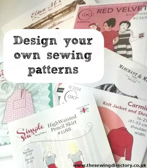 How to design and print your own sewing patterns