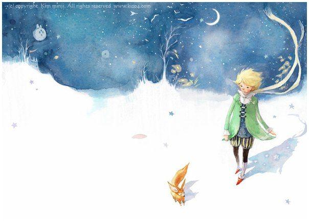 Антуан де Сент-Экзюпери. Маленький принц  Я ведь не хотел, чтобы тебе было больно. Ты сам пожелал, чтобы я тебя приручил.