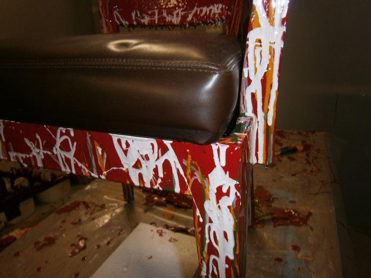 Armchair - dettaglio seduta