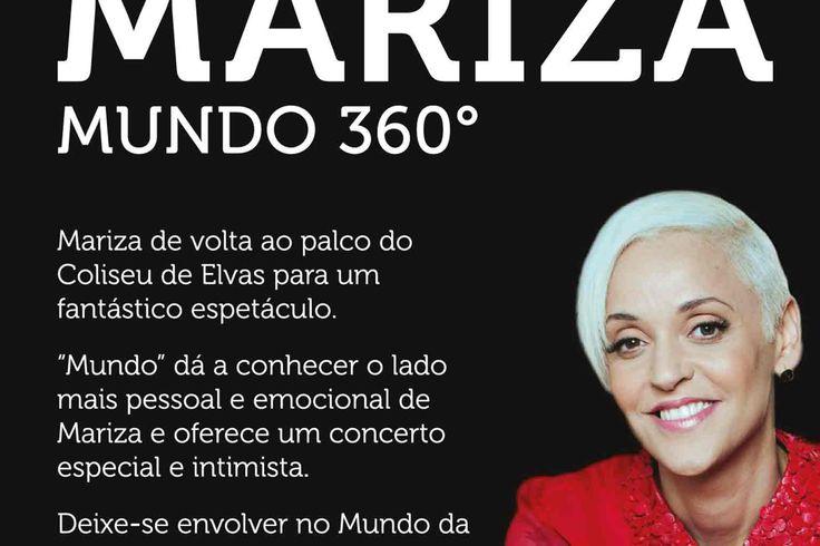 Mariza Mundo 360º, um concerto a não perder | Portal Elvasnews