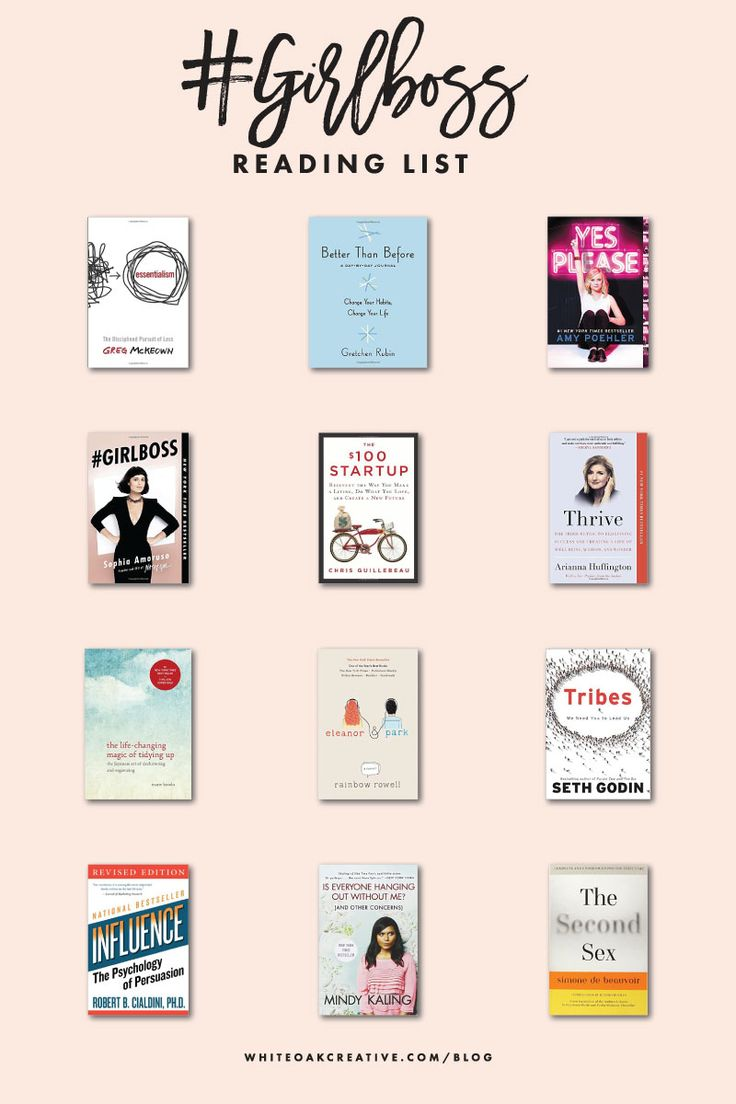 12 books that helped shape my business and brand, Girlboss Reading List for…