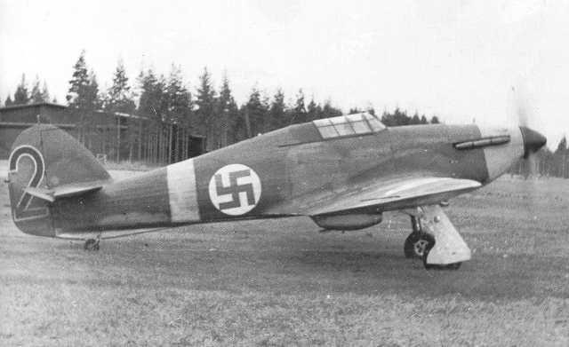 Finnish Air Force Hawker Hurricane Mk 1