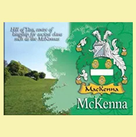 For Everything Genealogy - McKenna Coat of Arms Irish Family Name Fridge Magnets Set of 2, $12.00 (http://www.foreverythinggenealogy.com.au/mckenna-coat-of-arms-irish-family-name-fridge-magnets-set-of-2/)