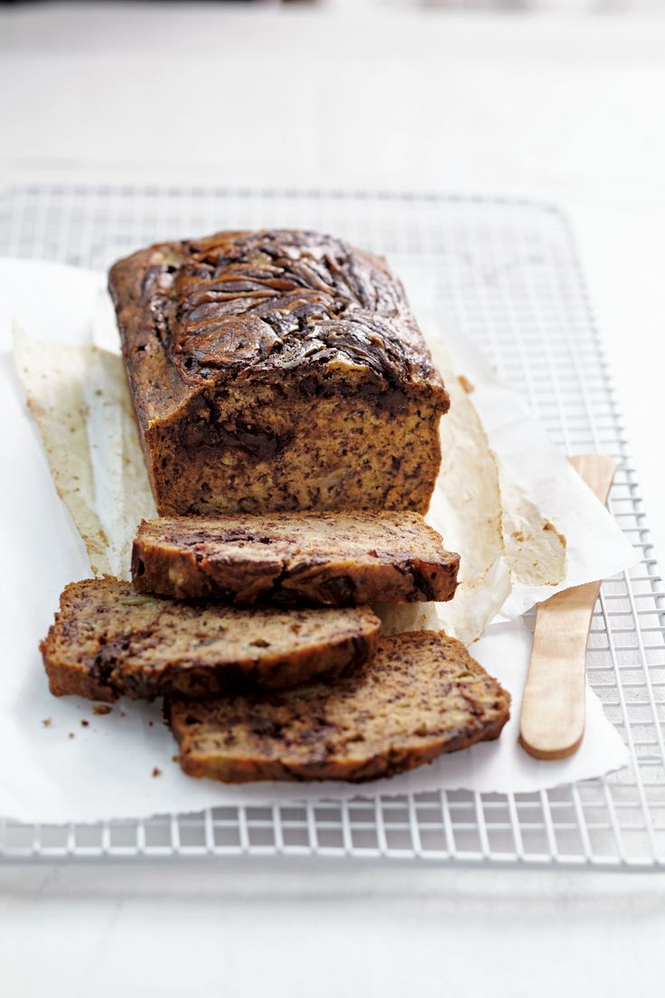 Couldn't finish your bananas in time, and now they've turned super ripe (and black)? Use them in this tasty slow-cooker chocolate swirl bread!