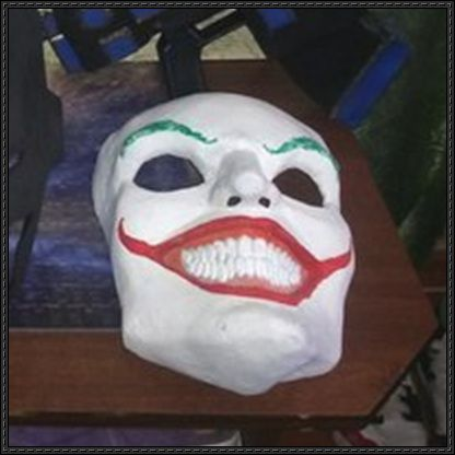 Best 25 joker mask ideas on pinterest for Joker mask template