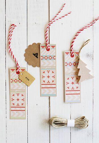 Imprimibles navideños, con la impresión de ser manualidades