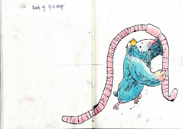 Drawing Diary: Week 19 2013 nr3