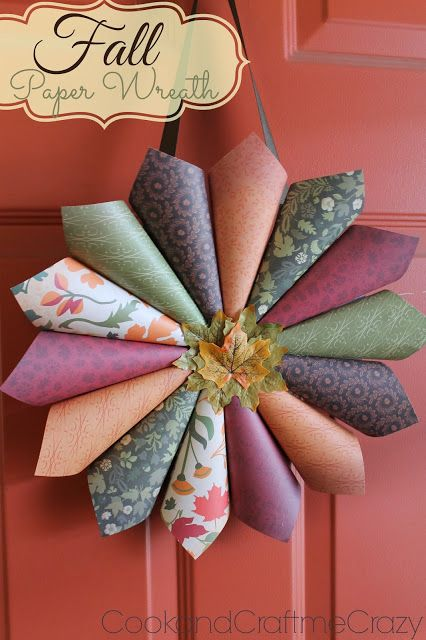 scrapbook paper craft ideas 17 best ideas about paper wreaths on diy paper 5383