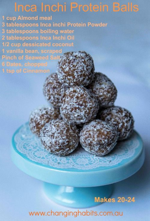 These Inca Inchi Protein Balls are so yummy and are the perfect healthy snack!They are packed full of Omega's and so quick and easy to make.