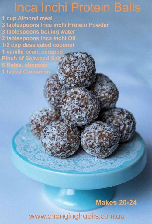 Inca Inchi Protein Balls
