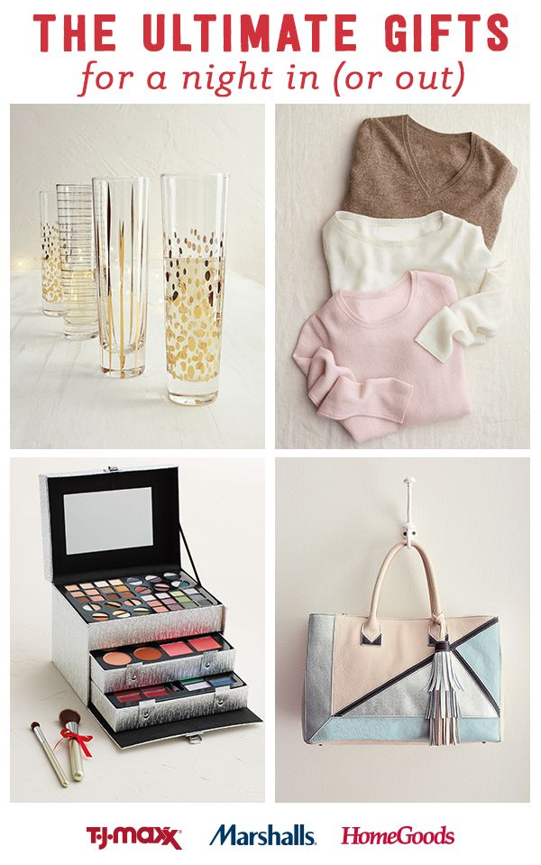 at night in  find wow worthy gifts for her at amazing prices at T J Maxx   Marshalls and HomeGoods  Get glam with makeup kits and beauty essentials or  stay. 33 best Your guide to giving joy images on Pinterest   Christmas