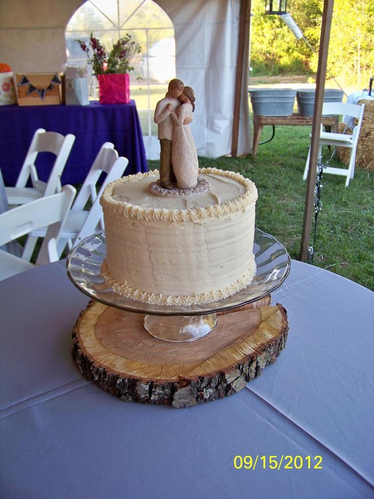 Autumn Tree Wedding Cake Toppers