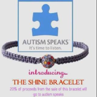 Stella & Dot Shine bracelet! 20% of proceeds go to Autism Speaks! To order yours go to www.stelladot.com/emilybraga