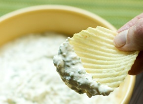 Caramelized Onion Dip Recipe - with real onion -- forget that dehydrated onion soup mix stuff!