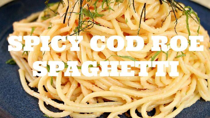JAPANESE SPICY COD ROE SPAGHETTI RECIPE - Karashi Mentaiko pasta - 辛子明太子スパゲティ - https://www.cookingnovel.com/japanese-spicy-cod-roe-spaghetti-recipe-karashi-mentaiko-pasta-%e8%be%9b%e5%ad%90%e6%98%8e%e5%a4%aa%e5%ad%90%e3%82%b9%e3%83%91%e3%82%b2%e3%83%86%e3%82%a3/ #cooking #recipe #food