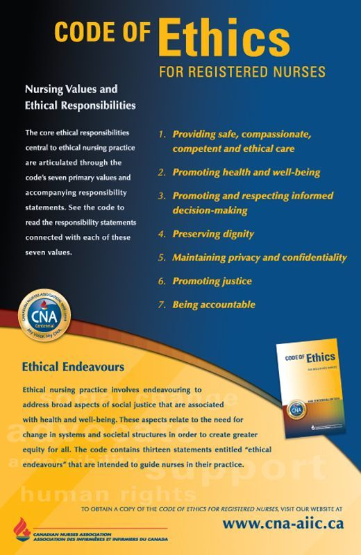 code of conduct in nursing practice