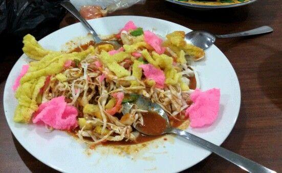 Asinan Sayur. Salad ala Indonesia.