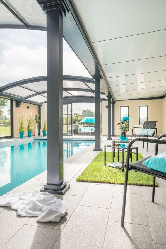 #abri #piscine dôme #UP espace #détente près de l'#eau
