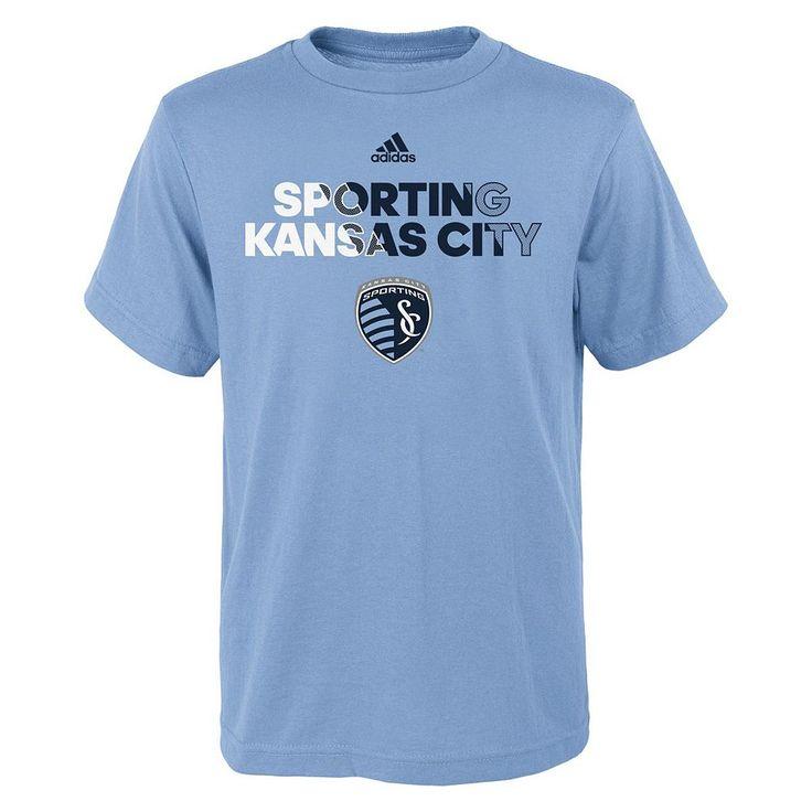 Boys 8-20 Adidas Sporting Kansas City Striker Tee, Size: Xl(18/20), Ovrfl Oth