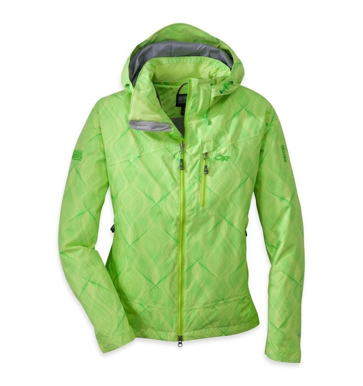 Women's Igneo Jacket™ | Outdoor Research: Updated with softer, quieter fabrics, the Igneo Jacket's two-layer construction consists of durable, abrasion-resistant nylon with waterproof, breathable Pertex® Shield coating and strategically placed Thermore® insulation.
