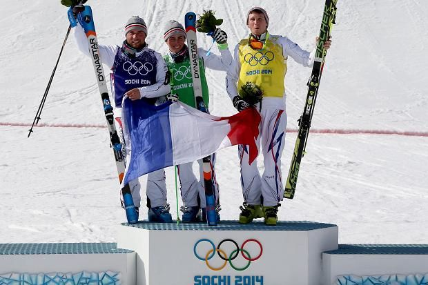 Chapuis took gold in a French clean sweep in the freestyle skiing's men's ski cross final