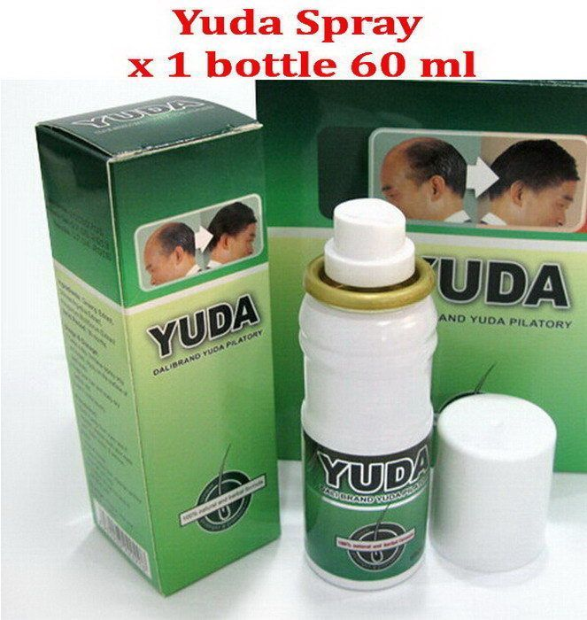 60Ml Yuda Pilatory Regain Hair Loss Treatment Extra Stong Fast Growth Grow Thick