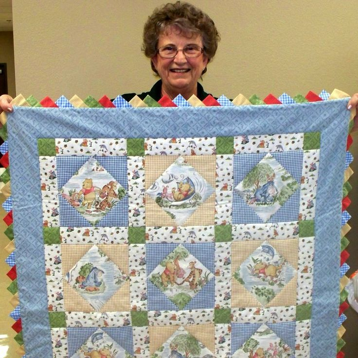 21 best Quilting images on Pinterest | Vibrant, Brother and Crafts : winnie the pooh baby quilt - Adamdwight.com