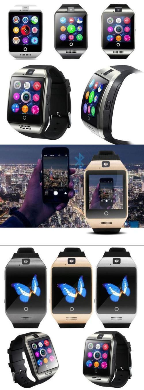 Smart Watches: Q18 Smart Wrist Watch Bluetooth Waterproof Gsm Phone For Android Samsung Iphone -> BUY IT NOW ONLY: $19.99 on eBay!