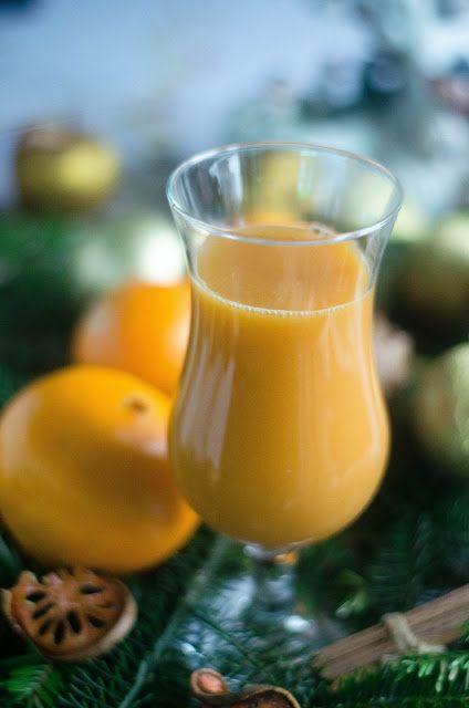 Kulinarne  pyszności  Molki: Koktajl wzmacniający odporność pomarańczowy