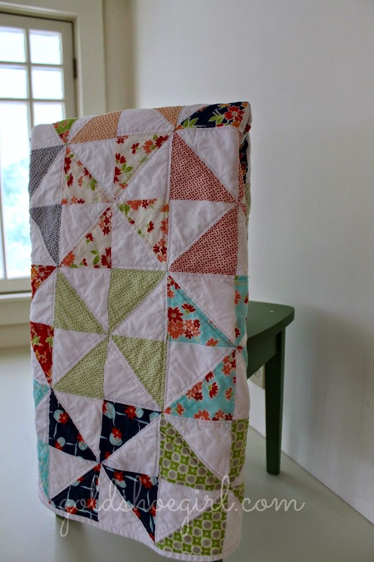 Gold Shoe Girl: Miss Kate Baby Girl Quilt