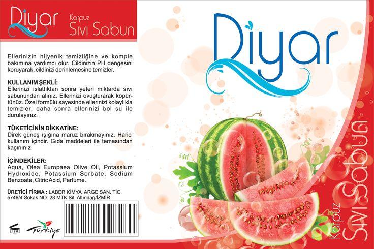 Liquid soap graphic draft