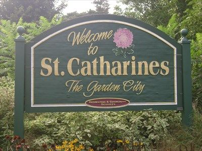 St. Catharines, Ontario Canada.  This city has beautiful flowers.  I want to come back here again.