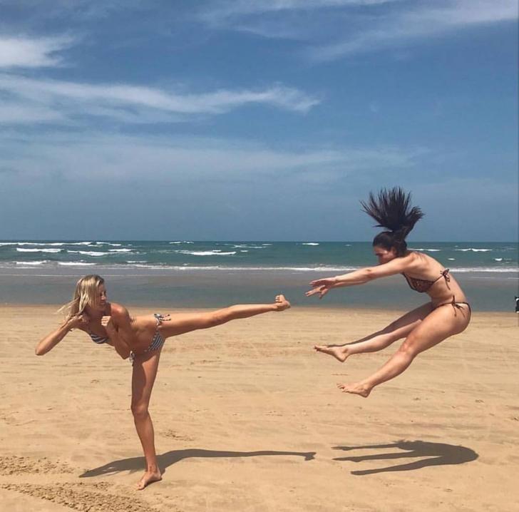 этом очень смешные фото с пляжа сцене вживую еще