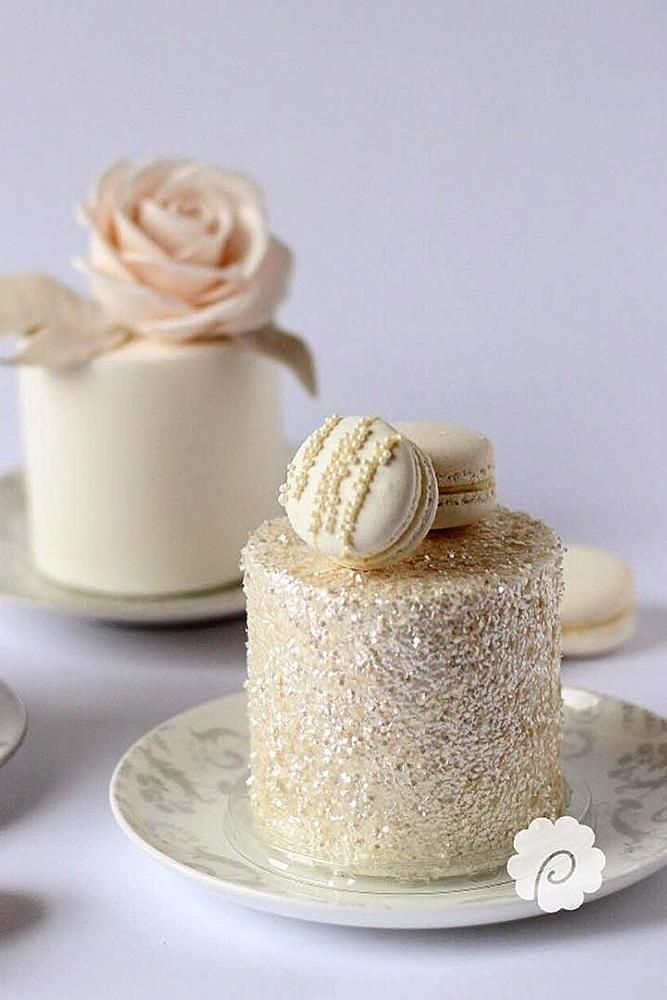 33 Exquisite Mini Wedding Cakes Gallery Inspire | Wedding Forward | Mini wedding cakes, Small wedding cakes, Chocolate wedding cake