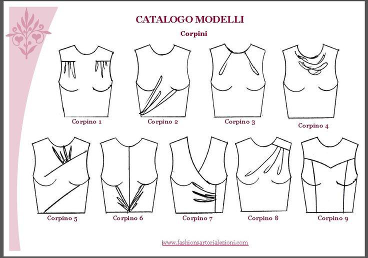 10 corpini - modelli del corso