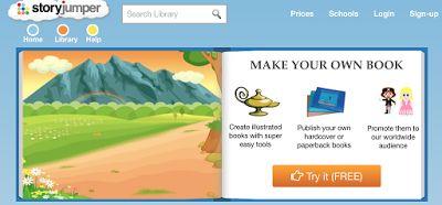 AYUDA PARA MAESTROS: Storyjumper - Para crear y publicar libros digital...
