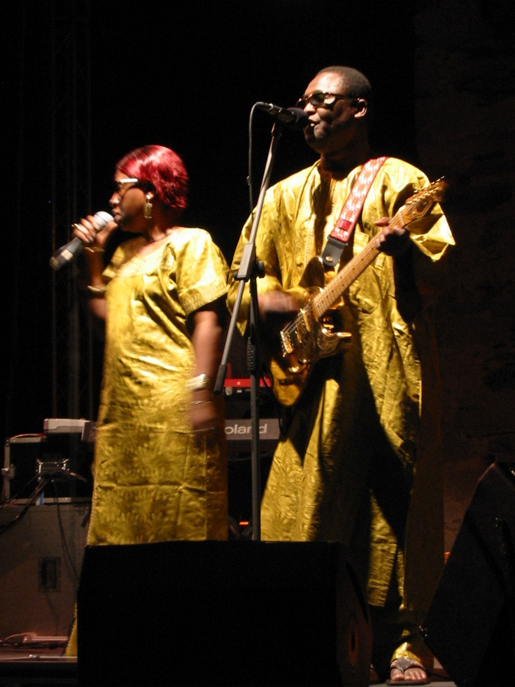 Amadu & Mariam - Sani festival - July 2008