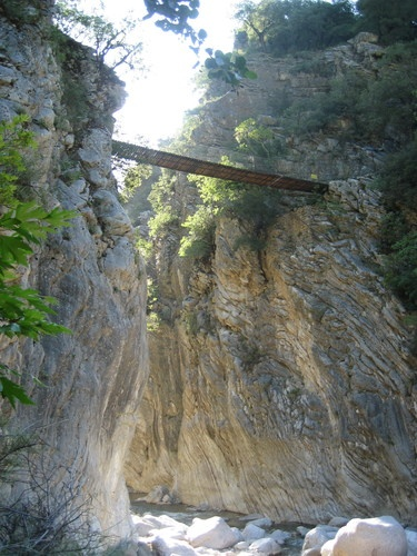 Pantavrechi canyon, Evritania, Greece