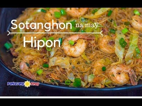 Aside from being yummy and very tasty, I like Pancit Sotanghon Na May Hipon because it is quick and easy to make. This is ideal for newbies