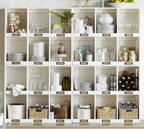 35 Open Kitchen Shelving Inspirations | Shelterness