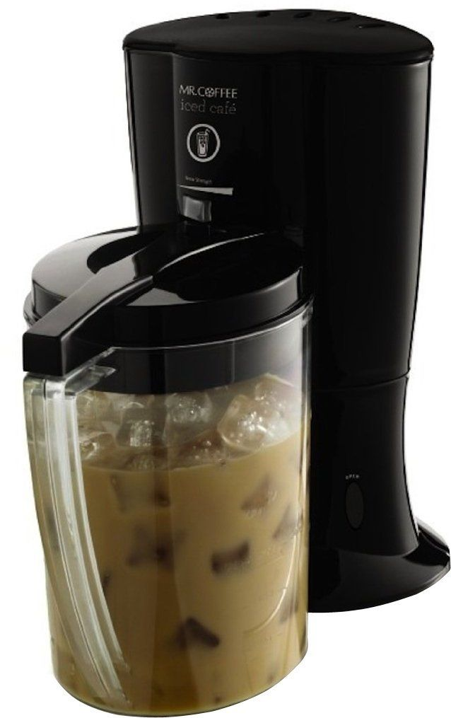Mr. Coffee BVMC-LV1 Iced Cafe Iced Coffee Maker, Black >> Find out more details by clicking the image : Coffee Maker