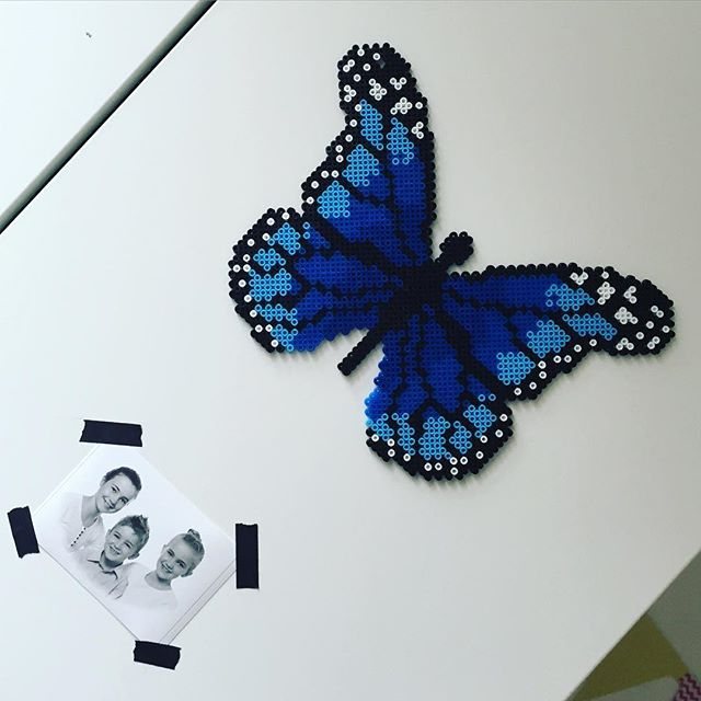 Butterfly hama beads by  thisbynico