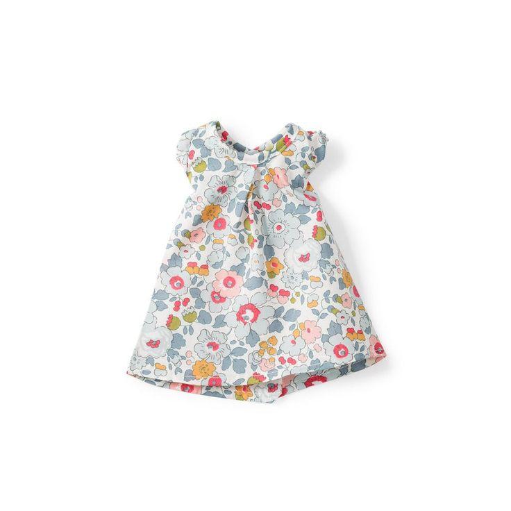 "Hazel Village   Liberty of London ""Sweet Rose"" Dress for Dolls"
