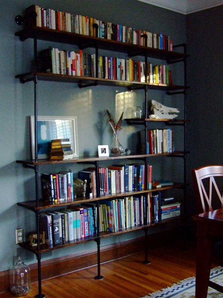 SINNEMOTA: Plumbing Pipe Bookshelf