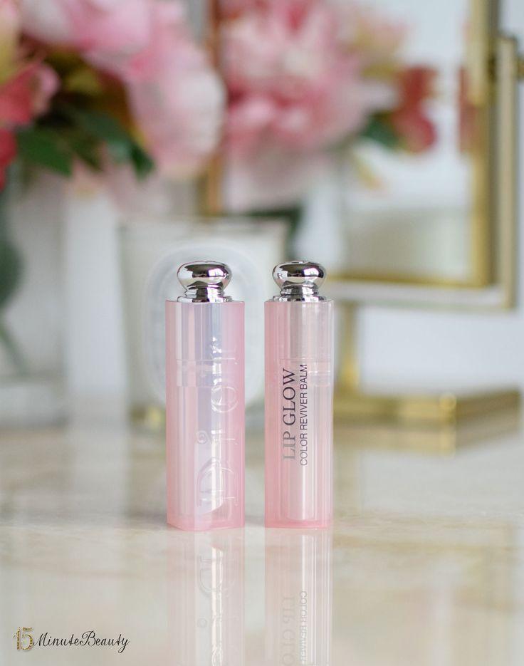 Dior Lip Glow:  My Perfect Pink via @15 Minute Beauty