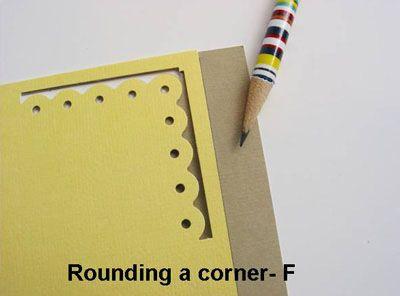 Faire des angles avec des perfos bordure (tuto)