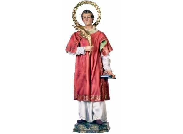 San Esteban, diácono protomártir Piezas de arte cristiano de Olot en venta - Santos de arte cristiano de Olot en venta - Imagen de San Esteban protomártir a la venta en seis medidas: 30, 60, 100, 120, 150 y 180 cm. Figura de Olot fabricada en pasta madera con ojos de cristal. http://www.articulosreligiososbrabander.es/venta-arte-crist… #SanEsteban #ArtecristianoOlot #ArteOlot #ImagenSanEsteban #26Diciembre
